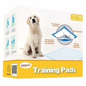 PUPPY TRAINING PADS AND SPRAY