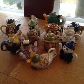 Tony Wood teapots