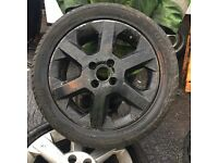 VAUXHALL ALLOY WHEEL SPARE WHEEL 4 STUD £30 • COLLECTION/ARRANGE COURIER