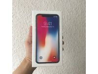 SEALED IPHONE X SPACE GREY 64GB