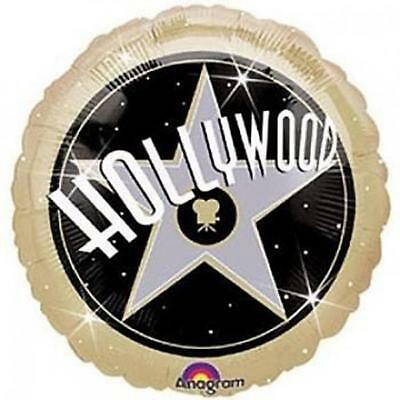 Hollywood Theme 18 Inch Foil Round Mylar Balloon Party Supplies 1 Per - Hollywood Supplies