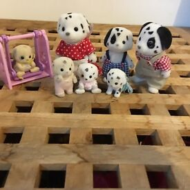 DALMATIAN SYLVANIAN FAMILIES AND SWING