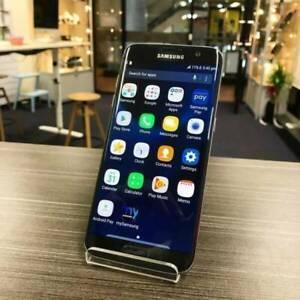 MINT CONDITION SAMSUNG S7 EDGE 32GB BLACK UNLOCKED WARRANTY