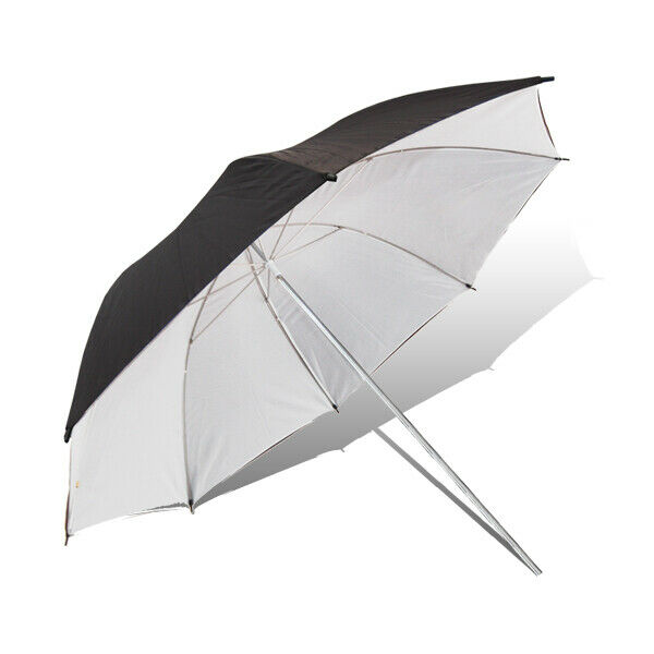2PACK Umbrella Reflector Studio Premium Quality Black-White for Photography