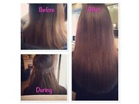 Micro Rings, Nano Rings, Easi Locks, Micro Weft Extensions covering London, Essex and Kent