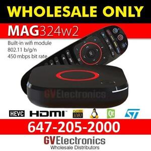 324W2-322W1-322-254w1-254-410 MAG INFOMIR- LATEST VERSION, FASTEST TV BOX