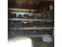 Driveshafts, starters, alternators, steering Racks, hubs, power steering pumps, Clutch's, turbos,