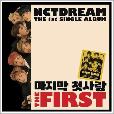 NCT DREAM [THE FIRST] 1st Single Album CD+PhotoBook+Photo Card+GIFT K-POP SEALED