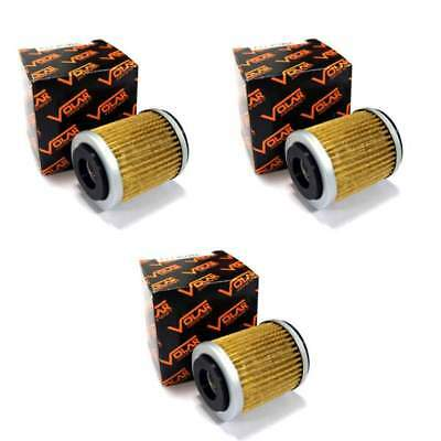 Volar Oil Filter - (3 pieces) for 1983-1986 Yamaha Tri Moto 225 YTM225