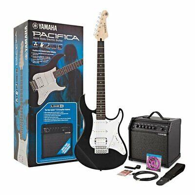 Yamaha Pacifica 012 Electric Guitar Starter Pack, Black