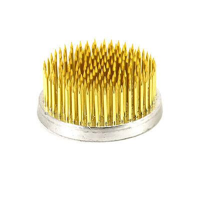 """Japanese 2 -1/8"""" Round Ikebana Kenzan Long Needle Flower Pin Prong/Made in Japan"""