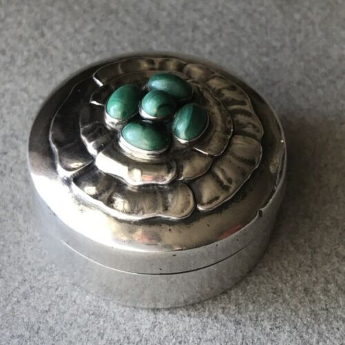 Georg Jensen Sterling Silver Compact No. 143A