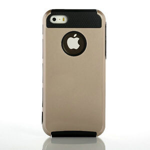 Gold Black Brand New iPhone 5 5S Bumper Cover Case Shockproof