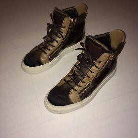 Mens giussepe zanotti hi top shoes