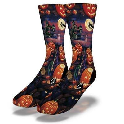 Brandneu Erwachsene / Junior Versierte Sox Halloween 26 - Halloween Socken