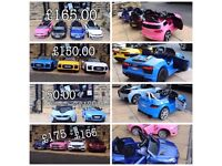 Largest Range Of Kids-Ride-On Cars From £100, Open Thurs Till 8