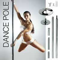 Dance Stripper Strip Pole 45mm Portable Fitness Exercise X POLE