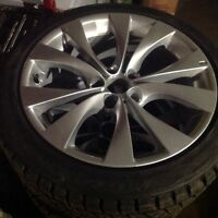 OEM BMW X5 & X6 M WHEELS W/ BRAND NEW WINTER TIRES DMV2!!!