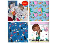 WHOLSALE JOBLOT CLEARANCE KIDS DUVET COVER & TODDLER BEDDING