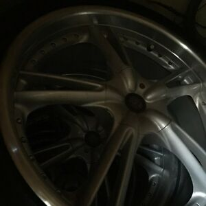 "19"" 5 bolt universal BBS rims and tires Kingston Kingston Area image 3"