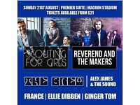 3 X Scouting For Girls tickets