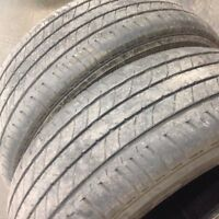 235/60R18 bridgestone mark , 2 tire