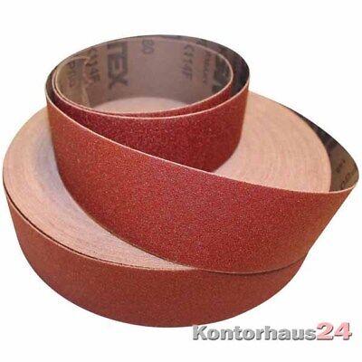 FORMAT: Schleifleinen Sparrolle 40mm K100 +++NEU+++