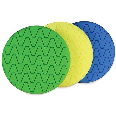 Autobright Body Shop machine polishing Pads Hook & Loop Compound Mop Heads