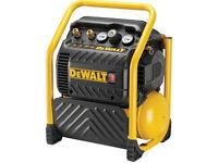 DeWalt DPC10QTCL 1100w Mid Pressure Super Quiet Compressor 110v *BRAND NEW*