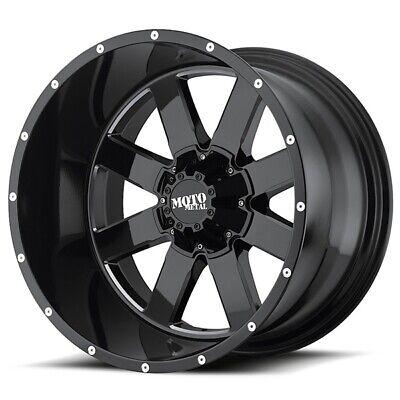 20 Inch Gloss Black Wheels Rims LIFTED Toyota Tundra Truck 5x150 Lug 20x10