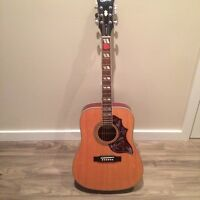Acoustic Guitar -Limited Epiphone Hummingbird Edition