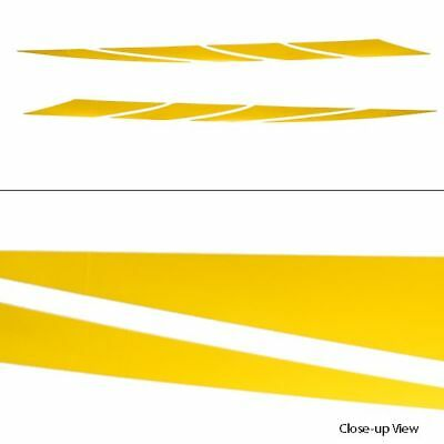 Glastron 2007 Gt Yellow 72 1/8 X 3 Mid Graphic Boat Decals (Set Of 2) 0572952A