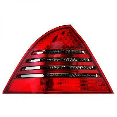 Rückleuchten Set für Mercedes C-Klasse W203 04-07 LED Klarglas/Rot-Grau Limo
