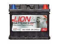 New battery Lion 40Ah