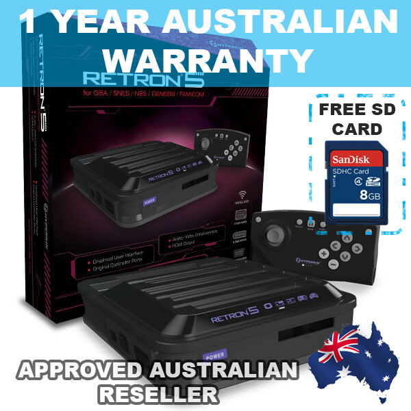 Miico_shop is the first Australian Re-seller to offer a 12 month Australian warranty with the RetroN5 console.