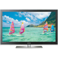 "Samsung PN58C7000 58"" PLASMA 3D-READY SMART TV 1"" Paid over$2500"