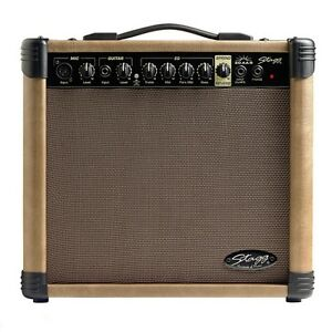 Stagg 20 AAR UK Acoustic Guitar Practice Amplifier Amp Reverb 20W