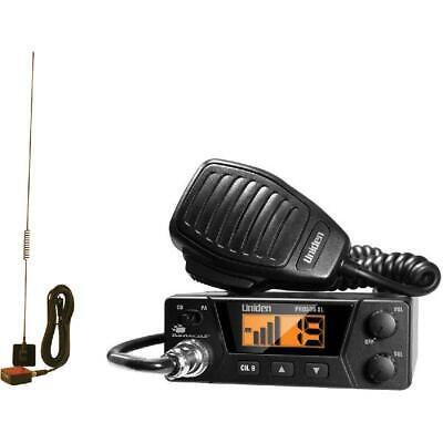 40-Channels Bearcat Compact CB Radio and Tram 703-HC Antenna Kit Center Load New