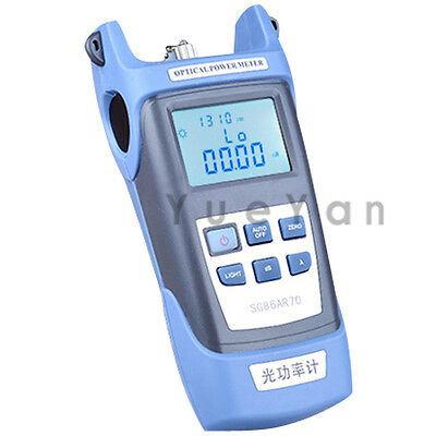 Optical Power Meter For Optical Fiber Networks Lcd Display -7010 Dbm 7 Wavs