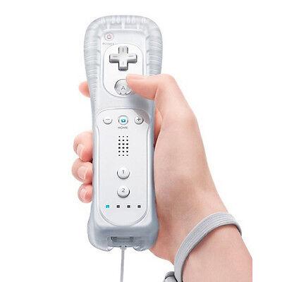 Bianco Wiimote Telecomando + Custodia per Nintendo Wii