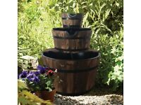 3 Barrel Water Feature