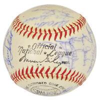Team ball Expos 1969 signée par 31 joueurs. JSA, Prix réduit!
