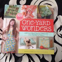 One yard wonders book and patterns