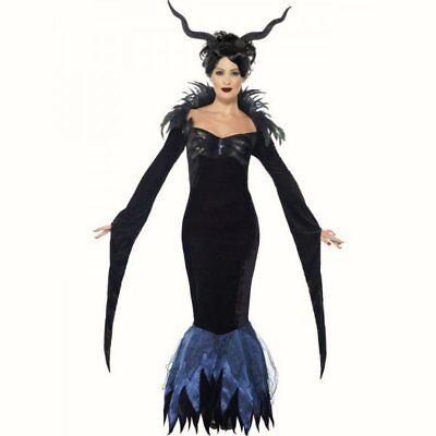 Ladies Lady Raven Maleficent film fancy dress costume womens Halloween - Maleficent'film Kostüm
