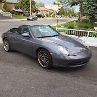 Porsche 911 cabriolet/convertible/decapotable super état bas km