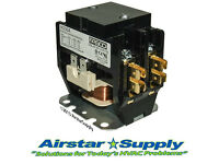 90-163 30 AMP 3 pole 24 volt Contactor Replaces R8212G 1209 Honeywell NEW