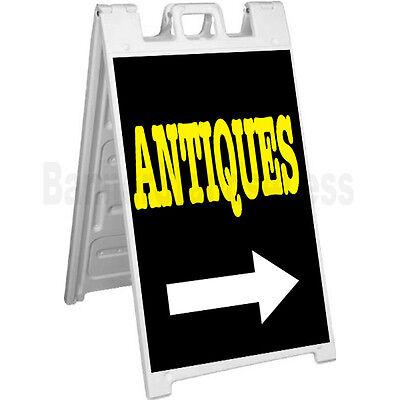 Signicade A-frame Sign Sidewalk Sandwich Pavement Sign - Antiques Kb