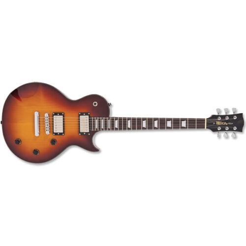 Fret King FKV1HT Black Label Eclat Standard Electric Guitar - Tobacco Sunburst