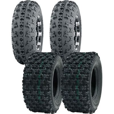 (21X7-10, 20X10-9 OCELOT ATV TIRE SET ALL 4 TIRES HONDA TRX 300EX 400EX 400X 450R)