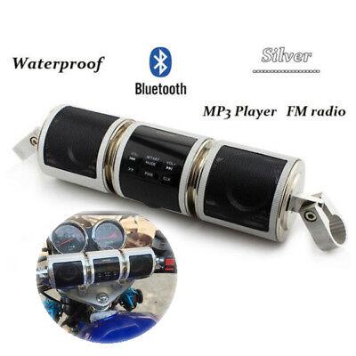 Bluetooth Motorcycle Handlebar Audio Amplifier Stereo Speaker Mp3 Usb Tf Stylish